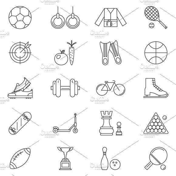Sport Line Art