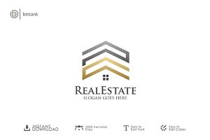 PC House - Real Estate Logo