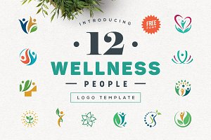 Wellness People Logo Bundle