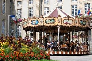 Carousel in Bayeux
