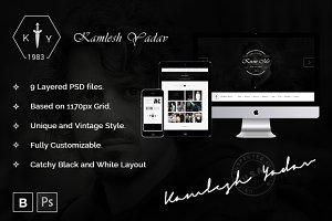 K Y Multipurpose PSD Template