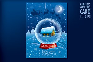 Merry Christmas Celebration Card