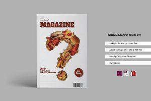 Food Magazine Template
