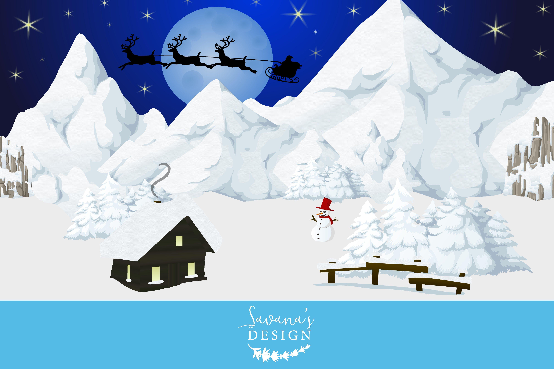 winter wonderland vector ~ Illustrations on Creative Market