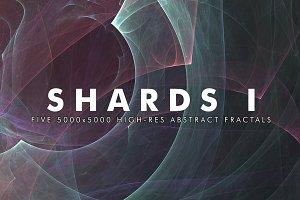 Shards I - Fractal Background Art