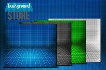 Blueprint Stage Background
