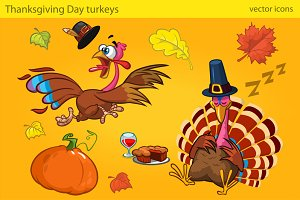 Thanksgiving Turkey Characters