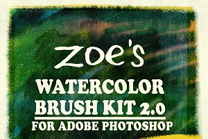Zoe's Watercolor Brush Kit 2.0