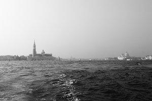 Bella Italia series. Venice - the Pearl of Italy. View on San Giorgio Maggiore Island.