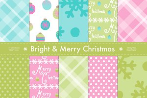 Merry & Bright Christmas Paper Set