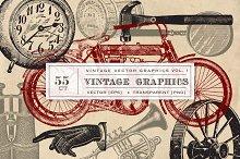 55 Vintage Vector Graphics