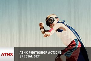 ATNX Photoshop Actions (Special Set)