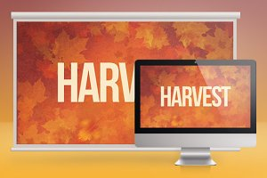 Harvest Celebration Church Slides