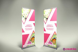 Photography Roll Up Banner - v061