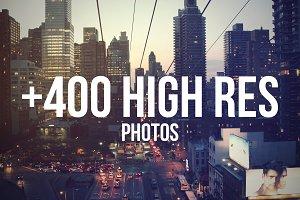 Hi-Res Photoset +400 Images