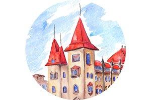 Saratov Conservatory gothic building