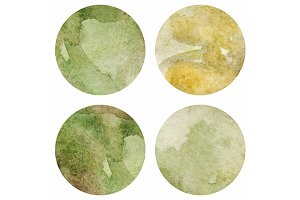 Watercolor marble texture vector