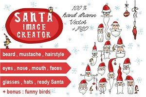 Santa faces creator