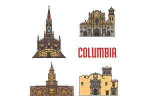 Colombia landmarks