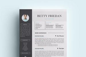 Web Designer Resume Template/ CV