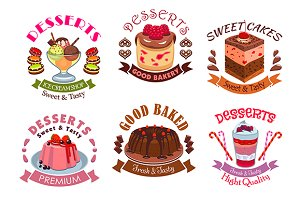 Bakery and desserts, pastry, cakes