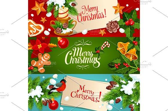 Christmas Festive Banner Set