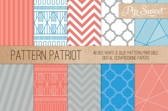 Patriot Colour 48 Pattern Set