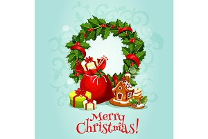 Christmas Day greeting card