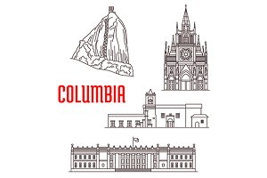 Colombia travel landmarks