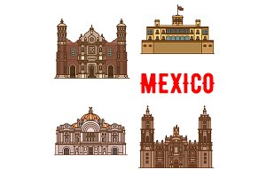 Sightseeings of Mexico