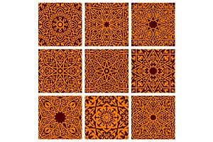 Arabian and islamic seamless pattern