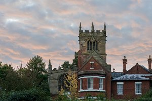 Old english architecture Ellesmere