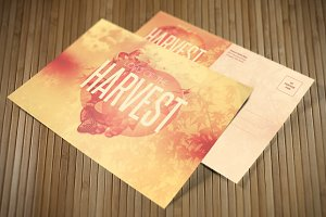 Lord of the Harvest Church Postcard