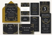 New Years Wedding Invitation Suite  by  in Invitations