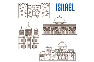 Historic buildings of Israel