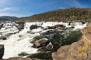Sandstone Falls waterfall WV