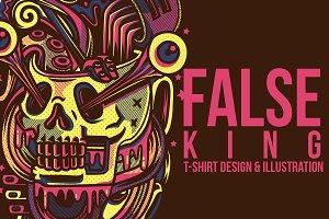 False King Illustration