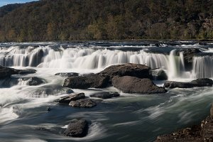 Sandstone Falls National Park WV