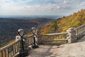 Cheat River from Coopers Rock
