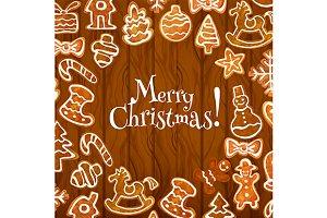 Christmas cookies poster