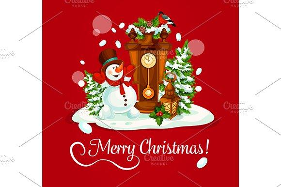 Christmas Day Greeting Card