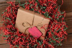 Christmas Present Crepe Paper