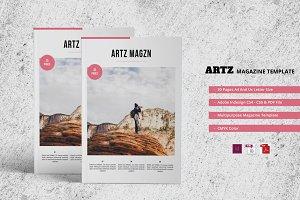 ARTZ Magazine Template
