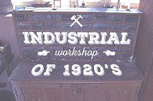 Industrial Workshop of 1920's | -25%