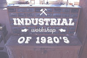 Industrial Workshop of 1920's   -25%
