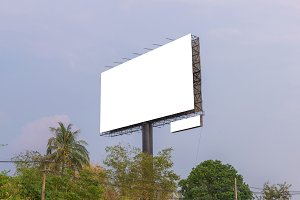billboard for advertisement
