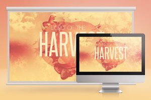 Lord of the Harvest Church Slide