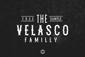 Velasco Serif Typeface