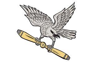 Shrike Clutching Propeller Blade