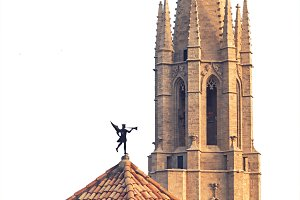 Esglesia de Sant Feliu Basilica in Girona